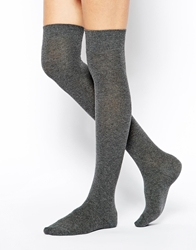 Asos Over The Knee Socks Grey