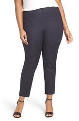 Nic Zoe Plus Size Women's 'Perfect' Side Zip Pants Midnight