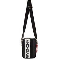 Givenchy Black And White Mc3 Crossbody Bag