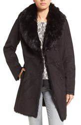 Andrew Marc New York Women's By Faux Shearling Coat