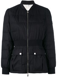 Moncler Gamme Rouge Sonora Puffer Jacket Women Silk Cotton Polyamide 2 Black