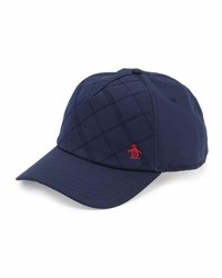 Penguin Quilted Front Baseball Hat Poseidon N