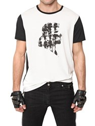 Karl Lagerfeld Techno Jersey Silhouette T Shirt