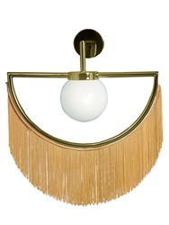 Houtique Wink Wall Lamp Yellow Gold
