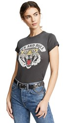 Chaser Rock And Roll Tee Faded Black