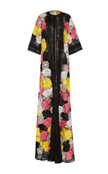 Naeem Khan Floral Embroidered Coat