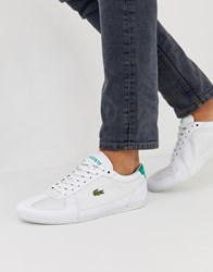 Lacoste Evara Sport Trainers In White