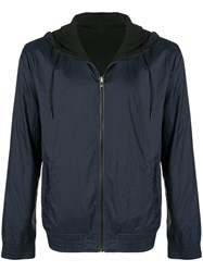 Hugo Boss Zip Hooded Jacket Blue