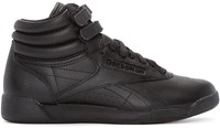 Reebok Classics Black Freestyle High Top Sneakers