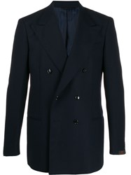 Massimo Piombo Mp Helmut Double Breasted Blazer 60