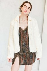 Lucca Couture Super Cozy Sweater Jacket Ivory
