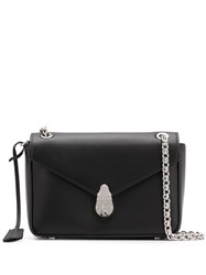 Calvin Klein Push Lock Shoulder Bag Black