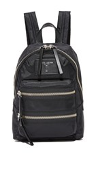 Marc Jacobs Nylon Biker Mini Backpack Black