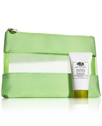 Origins Receive A Free Skin Care Giveaway Cosmetics Bag Deluxe Modern Friction With Any 45 Purchase Created For Macy's