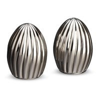 L'objet Carrousel Salt And Pepper Set Stainless Steel