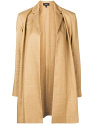 Theory Open Front Coat Neutrals