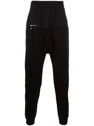 Blood Brother Zip Detail Track Pants Black