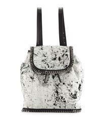 Falabella Canvas Backpack Black Stella Mccartney