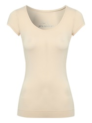 Jane Norman Deep Hem T Shirt Pink