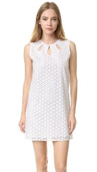 Jenni Kayne Cutout Mini Dress White