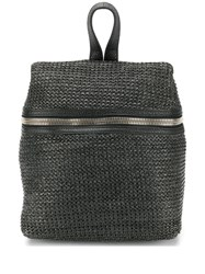 Kara Zipped Backpack Black