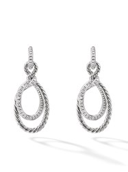 David Yurman Continuance Drop Diamond Earring Ssadi