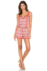 Joie Sophy Romper Red