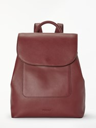 Modalu Alice Leather Backpack Burgundy