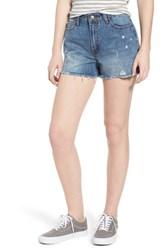 Evidnt Ripped Boyfriend Shorts Beachwood