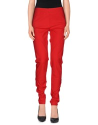 Joseph Trousers Casual Trousers Women Red