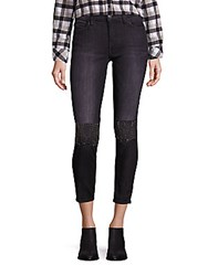 Current Elliott The Stiletto Embellished Skinny Jeans Montrose With Stud