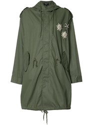 Creatures Of The Wind Jarde Parka Green