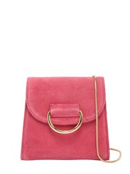 Little Liffner Tiny Box Suede Shoulder Bag