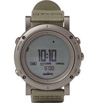 Suunto Essential Stainless Steel Digital Watch Gray