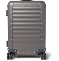 Fabbrica Pelletterie Milano Spinner 55Cm Aluminium Carry On Suitcase Gray