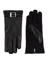Les Hommes Accessories Gloves Men Black
