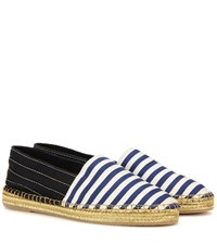 Marc Jacobs Striped Espadrilles Blue