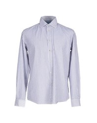 Altea Shirts Shirts Men Slate Blue