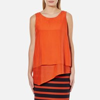 Boss Orange Women's Evelo Top Bright Red