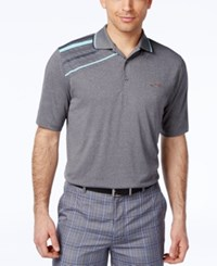 Greg Norman For Tasso Elba Big And Tall Shoulder Stripe Performance Polo Only At Macy's