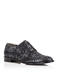 Robert Clergerie Jam Laceless Oxfords Silver