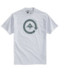 Lrg Men's Cycle Logo T Shirt Athletic Grey