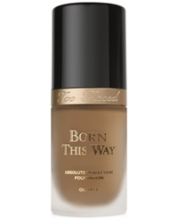 Too Faced Born This Way Foundation Caramel