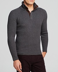 The Men's Store At Bloomingdale's Cashwool 4 Button Sweater Bloomingdale's Exclusive Ash Brown