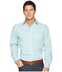 Ariat Maximillion Shirt Noon Sky Long Sleeve Button Up Blue