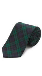 Jack Spade Blackwatch Tie Green