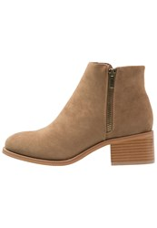 Evenandodd Ankle Boots Brown