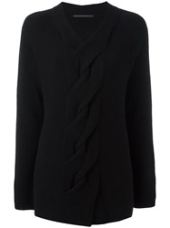 Ermanno Scervino V Neck Jumper Black