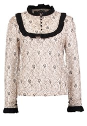 Sister Jane Monsoon Blouse Beige