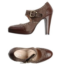 Les Trois Garcons Pumps Light Brown